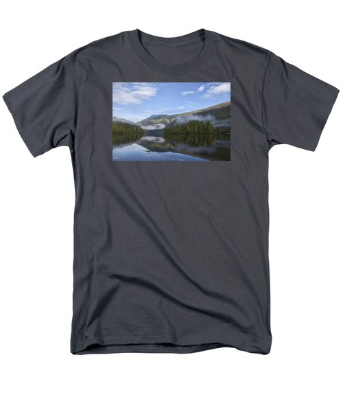 Morning Fog Clearing Men's T-Shirt  (Regular Fit) by Michele Cornelius