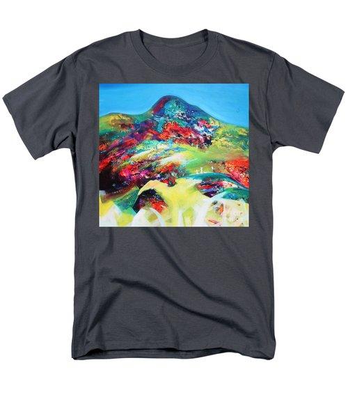 Morning Glory Men's T-Shirt  (Regular Fit) by Sanjay Punekar