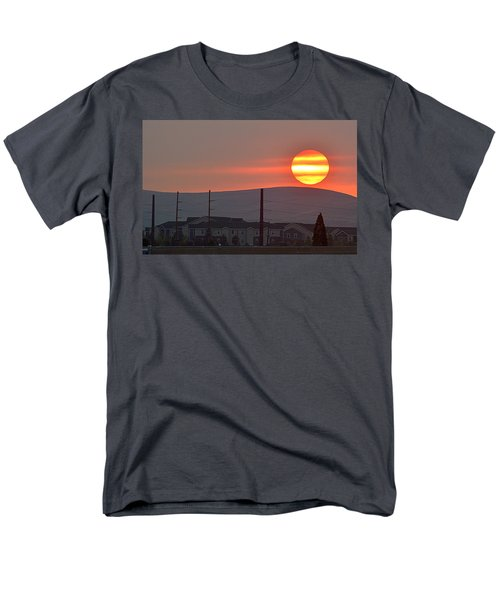 Morning Has Broken Men's T-Shirt  (Regular Fit) by AJ Schibig