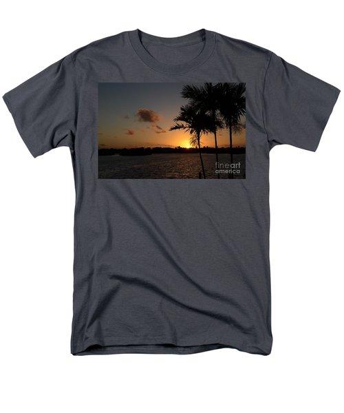 Men's T-Shirt  (Regular Fit) featuring the photograph Morning Has Broken by Pamela Blizzard