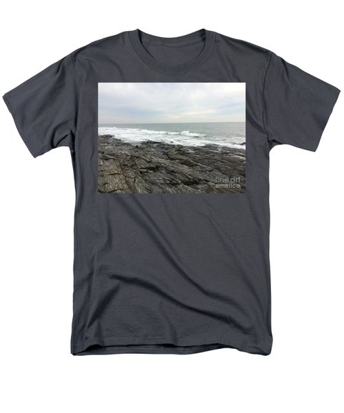 Morning Horizon On The Atlantic Ocean Men's T-Shirt  (Regular Fit) by Patricia E Sundik