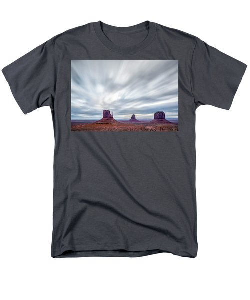 Men's T-Shirt  (Regular Fit) featuring the photograph Morning In Monument Valley by Jon Glaser