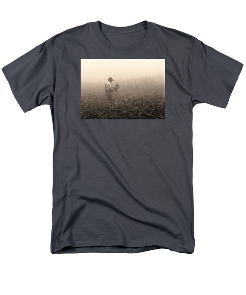Morning In The Fields Men's T-Shirt  (Regular Fit) by Stephen Flint
