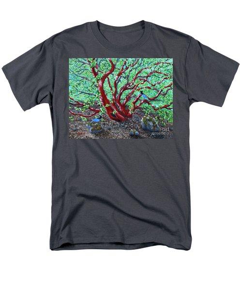 Morning Manzanita Men's T-Shirt  (Regular Fit) by Laura Iverson