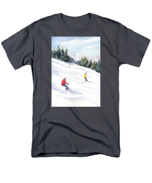 Morning On The Mountain Men's T-Shirt  (Regular Fit) by Vikki Bouffard