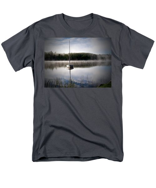 Morning On White Sand Lake Men's T-Shirt  (Regular Fit) by Lauren Radke