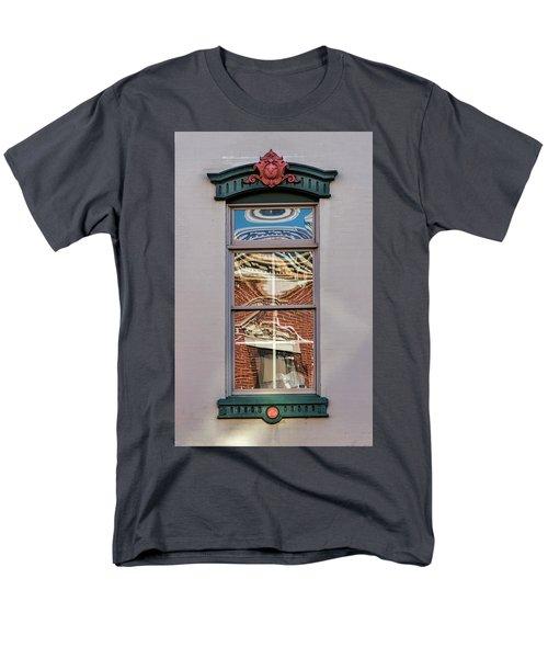 Morning Reflection In Window Men's T-Shirt  (Regular Fit)