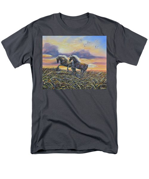 Morning Run Men's T-Shirt  (Regular Fit) by Gail Butler