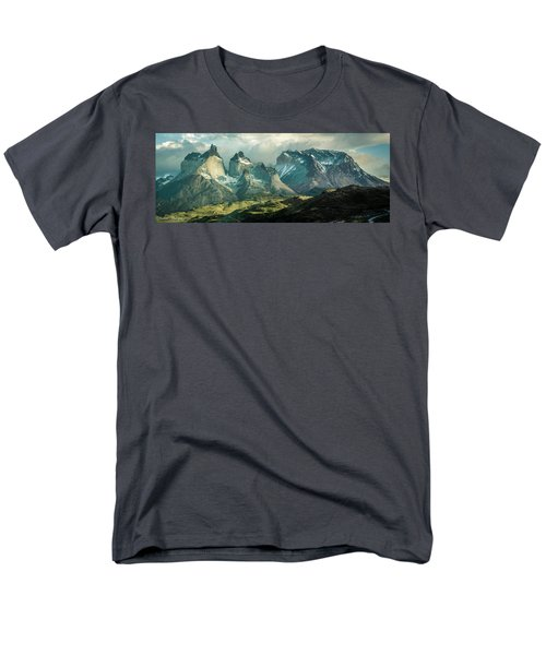 Men's T-Shirt  (Regular Fit) featuring the photograph Morning Shadows by Andrew Matwijec