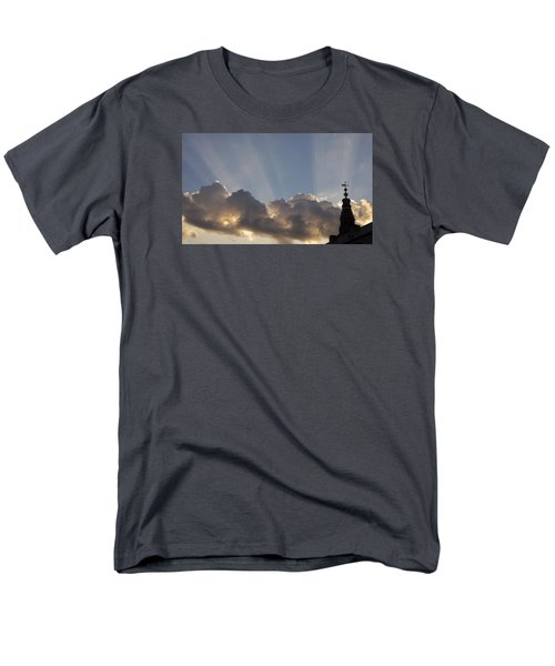 Men's T-Shirt  (Regular Fit) featuring the photograph Morning Sky by Inge Riis McDonald