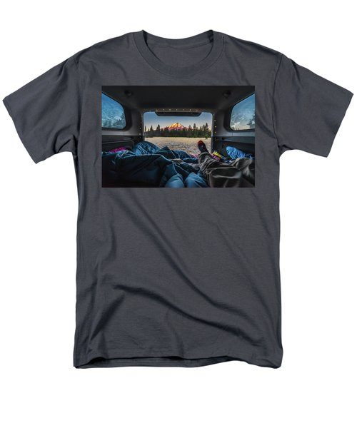 Morning Views Men's T-Shirt  (Regular Fit) by Alpha Wanderlust