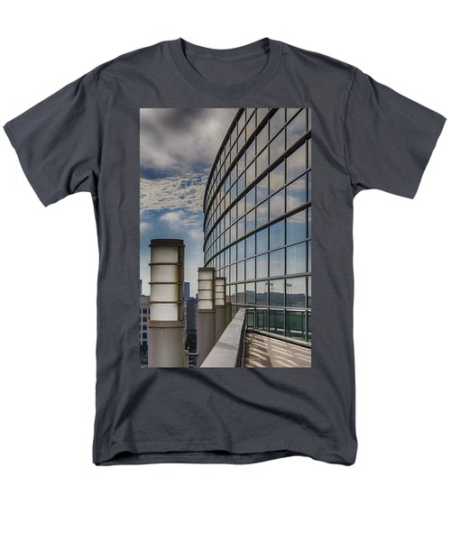 Men's T-Shirt  (Regular Fit) featuring the photograph Moscone West Balcony by Darcy Michaelchuk