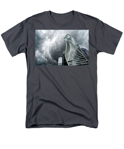 Moscow City And Storm Men's T-Shirt  (Regular Fit) by Anastasy Yarmolovich