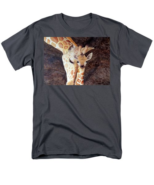 Men's T-Shirt  (Regular Fit) featuring the painting Mother And Child by Laurel Best