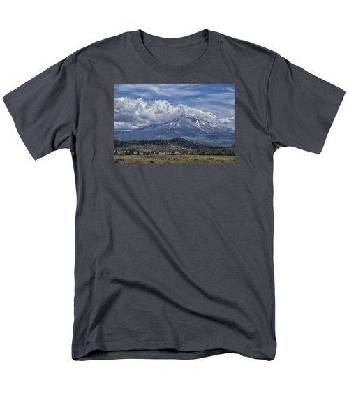 Men's T-Shirt  (Regular Fit) featuring the photograph Mount Shasta 9950 by Tom Kelly