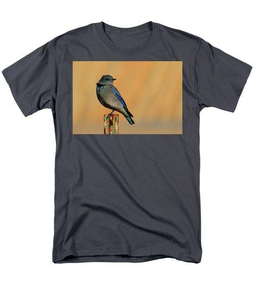 Mountain Bluebird Men's T-Shirt  (Regular Fit) by Paul Marto