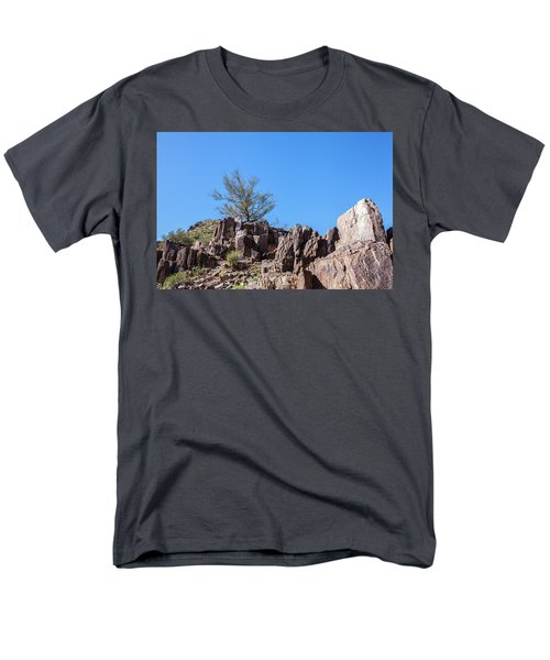 Mountain Bush Men's T-Shirt  (Regular Fit) by Ed Cilley