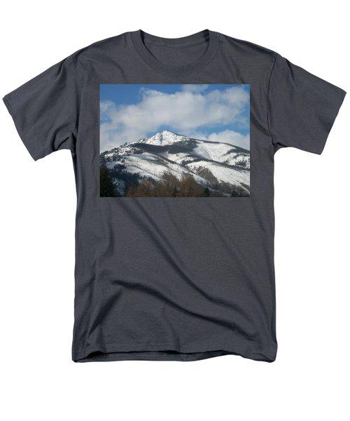 Mountain Peak Men's T-Shirt  (Regular Fit) by Jewel Hengen