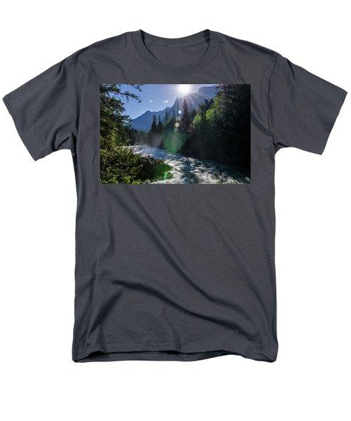 Mountain Sunburst Men's T-Shirt  (Regular Fit)