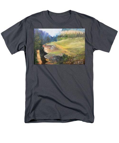 Mountain View  Men's T-Shirt  (Regular Fit)