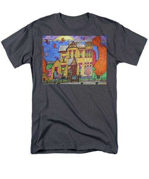 Mrs. Robert Stephenson Home. Men's T-Shirt  (Regular Fit) by Jonathon Hansen