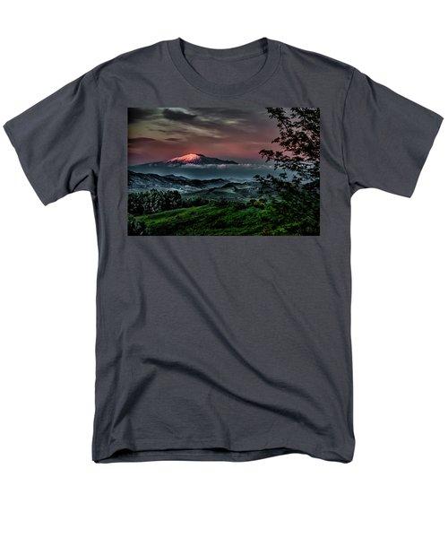 Mt. Etna I Men's T-Shirt  (Regular Fit) by Patrick Boening