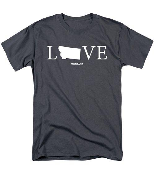 Mt Love Men's T-Shirt  (Regular Fit) by Nancy Ingersoll