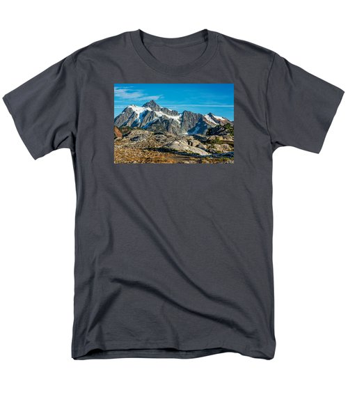 Mt. Shuksan, Washington Men's T-Shirt  (Regular Fit) by Sabine Edrissi