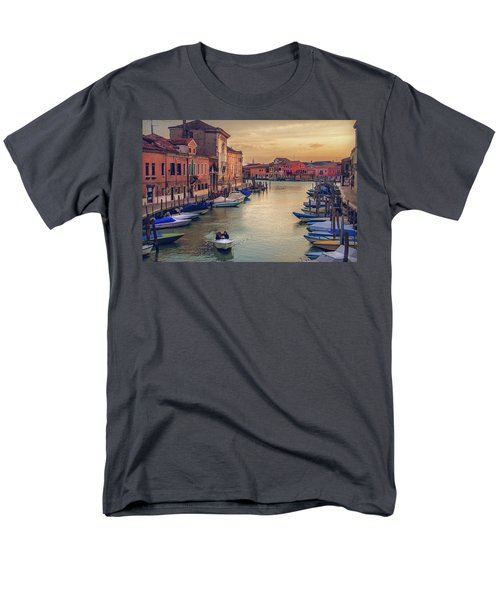 Murano Late Afternoon Men's T-Shirt  (Regular Fit) by Brian Tarr
