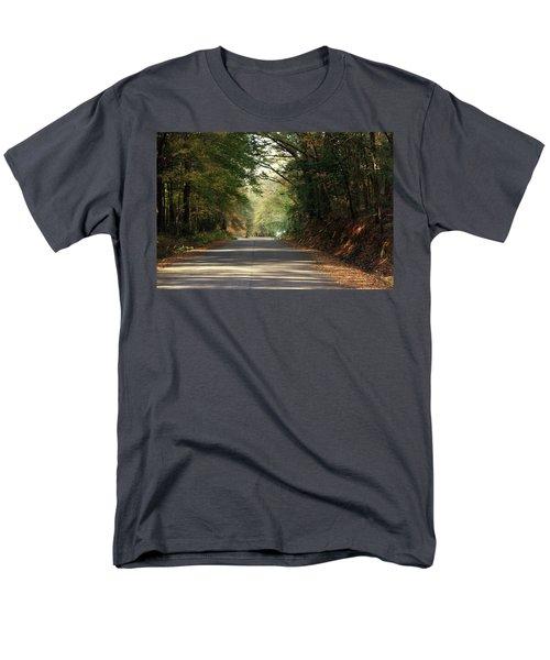 Murphy Mill Road Men's T-Shirt  (Regular Fit) by Jerry Battle