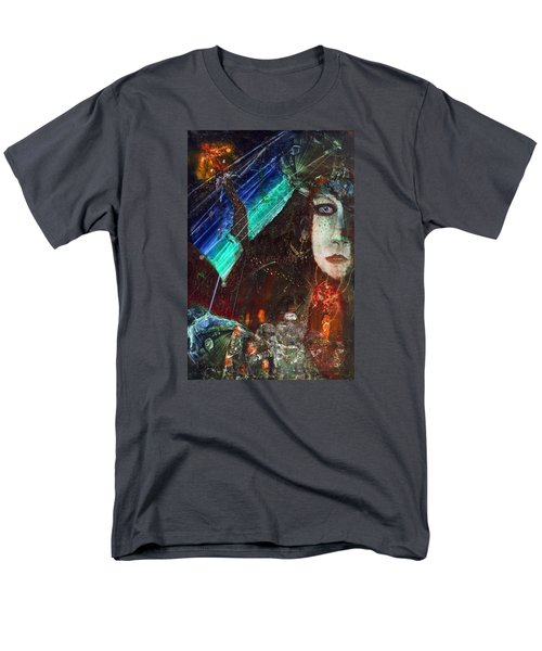 Mushroom Girl Men's T-Shirt  (Regular Fit) by Mikhail Savchenko