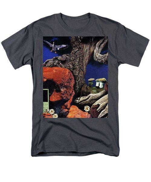 Mushroom People - Collage Men's T-Shirt  (Regular Fit)