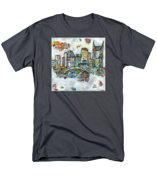 Music City Dreams Men's T-Shirt  (Regular Fit) by Kirsten Reed