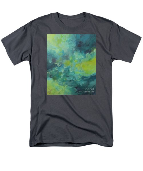Men's T-Shirt  (Regular Fit) featuring the painting Musing 117 by Elis Cooke