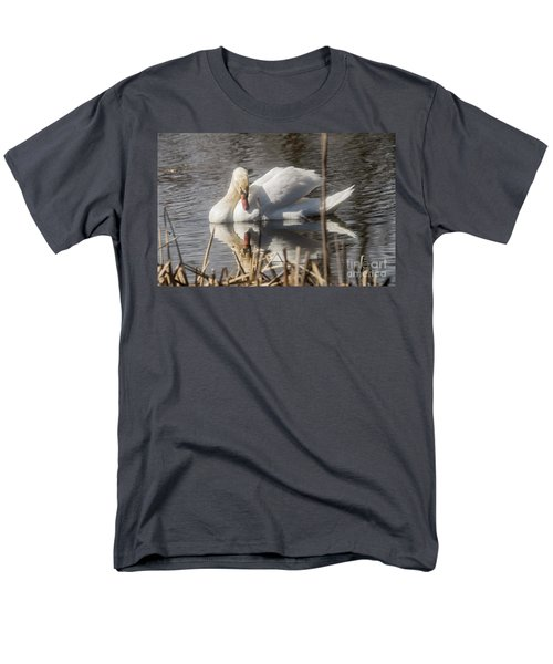 Men's T-Shirt  (Regular Fit) featuring the photograph Mute Swan - 3 by David Bearden