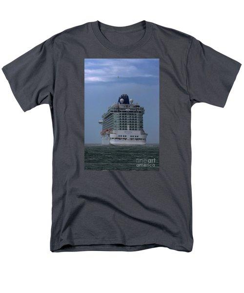 Mv Britannia 3 Men's T-Shirt  (Regular Fit) by David  Hollingworth