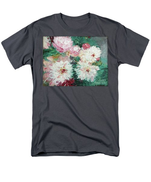 My Chrysanthemums Men's T-Shirt  (Regular Fit) by Barbara Anna Knauf