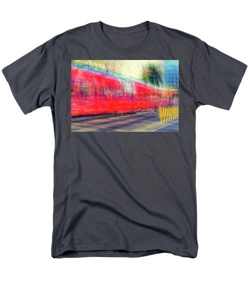 My City's Got A Trolley Men's T-Shirt  (Regular Fit) by Joseph S Giacalone