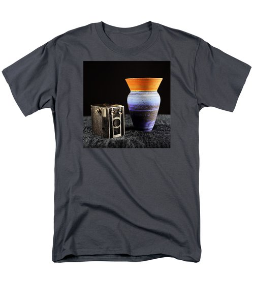 Men's T-Shirt  (Regular Fit) featuring the photograph My Dad's Camera by Jeremy Lavender Photography