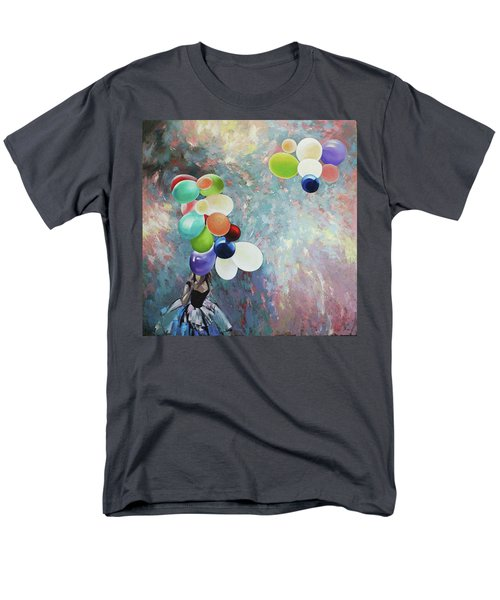 My Friend The Wind. Men's T-Shirt  (Regular Fit) by Anastasija Kraineva