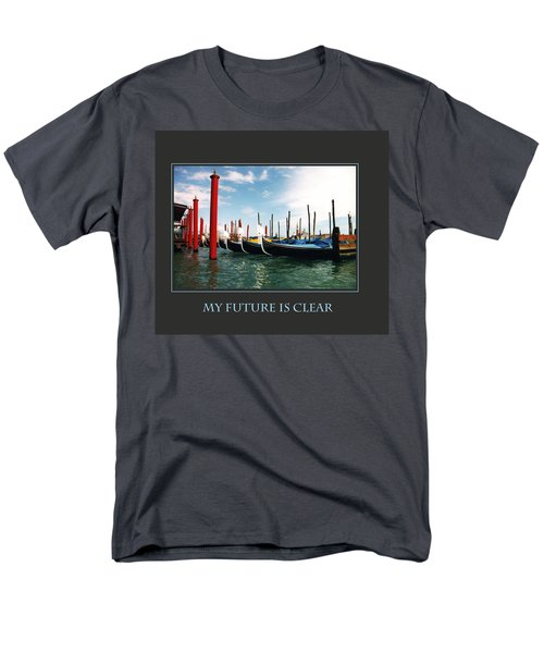My Future Is Clear Men's T-Shirt  (Regular Fit)
