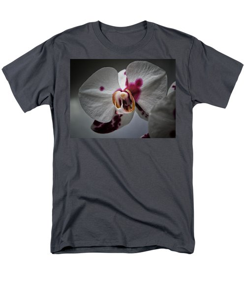 My Growling Dragon Orchid. Men's T-Shirt  (Regular Fit) by Karen Stahlros