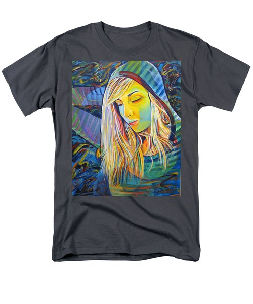 Men's T-Shirt  (Regular Fit) featuring the painting My Love by Joshua Morton