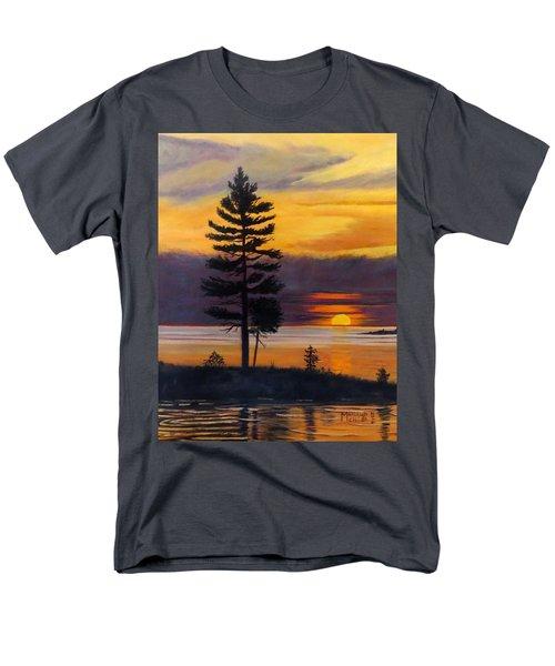 My Place Men's T-Shirt  (Regular Fit)
