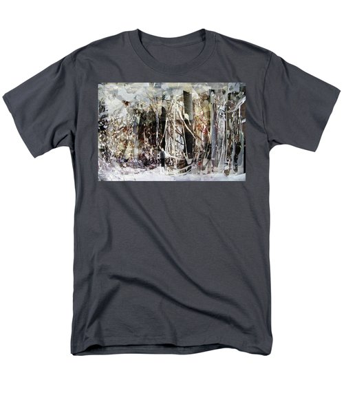 Men's T-Shirt  (Regular Fit) featuring the photograph My Signature Or Yours  by Danica Radman