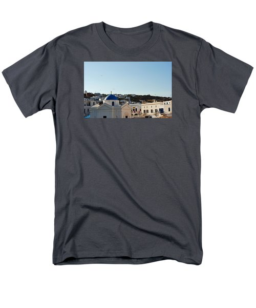 Mykonos Sunrise Men's T-Shirt  (Regular Fit) by Robert Moss