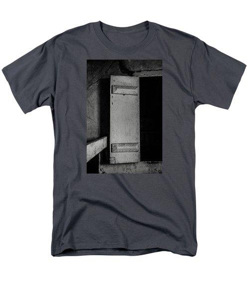 Mysterious Attic Door  Men's T-Shirt  (Regular Fit) by Off The Beaten Path Photography - Andrew Alexander