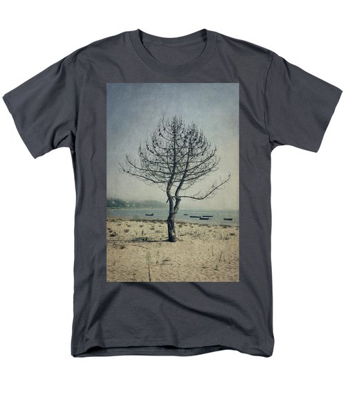 Men's T-Shirt  (Regular Fit) featuring the photograph Naked Tree by Marco Oliveira