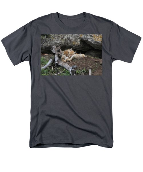 Men's T-Shirt  (Regular Fit) featuring the photograph Nap Time by Steve Stuller
