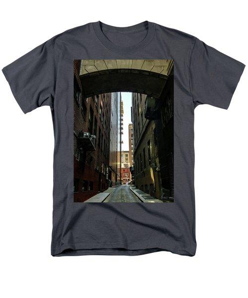 Narrow Streets Of Cobble Stone Men's T-Shirt  (Regular Fit) by Bruce Carpenter
